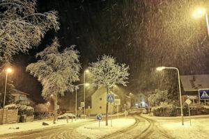 Ein Abend Winter