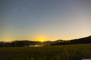 Mondaufgang in Oberjosbach